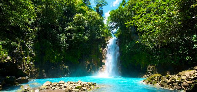 Cachoeira Tenório, na Costa Rica