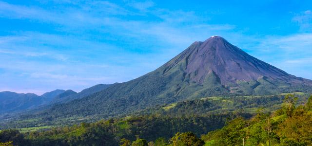 Vulcões na Costa Rica
