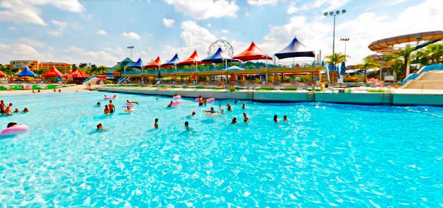 Wave Lagoon - parque aquático Wen't Wild