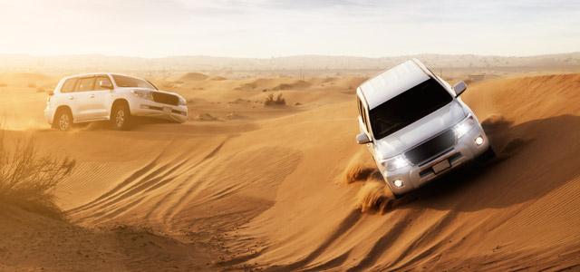 4x4 pela areias de Dubai