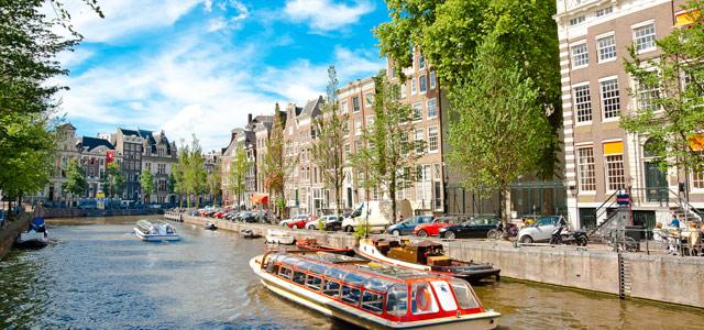 Amsterdã - Viajar sozinho