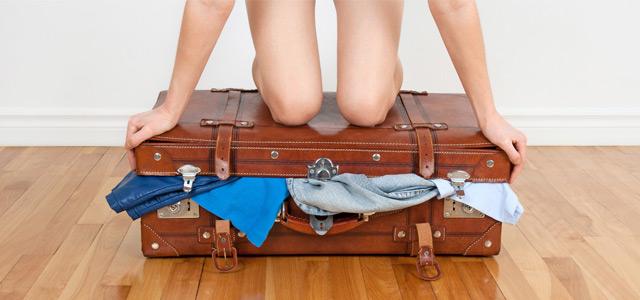 Carregue poucas malas quando decidir viajar sozinho