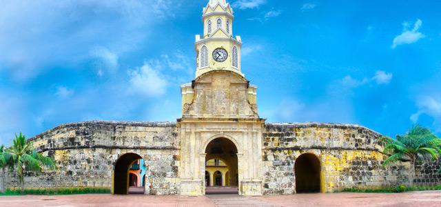 Torre do Relógio, em Cartagena