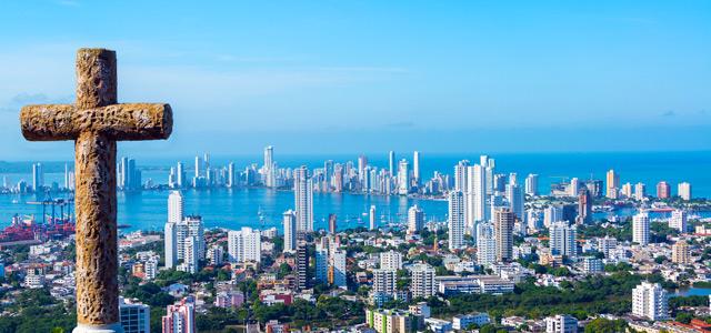 Vista aérea de Cartagena
