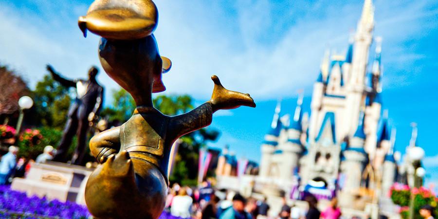 A magia dos pacotes para Disney