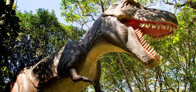 O mundo dos Dinossauros - Passeios com crianças
