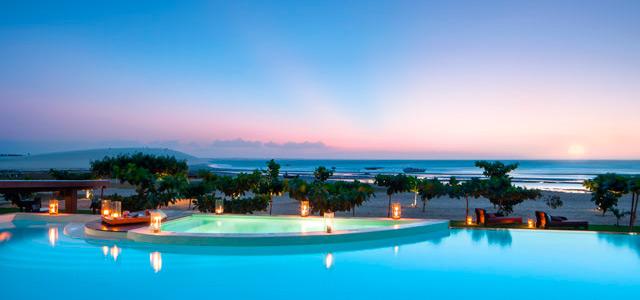 Vista de Jericoacoara da suite lounge do Essenza Hotel