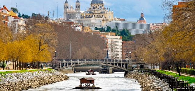 Rio Manzanares, Madri