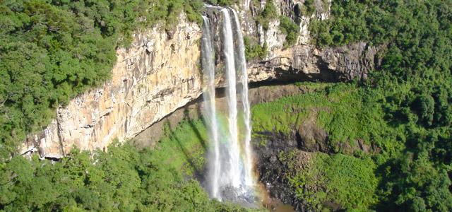 Cascata Caracol, em Canela