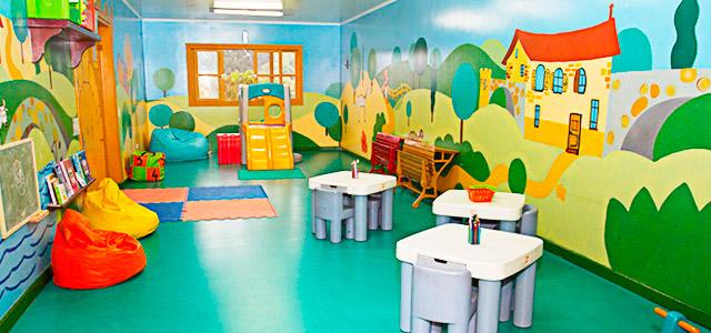 Kids Club para os pequeninos no Hotel Villa Rossa