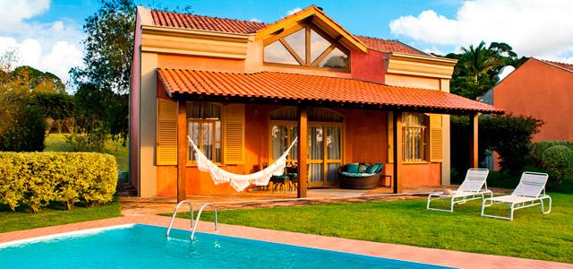 O Loft do Hotel Villa Rossa possui piscina privativa