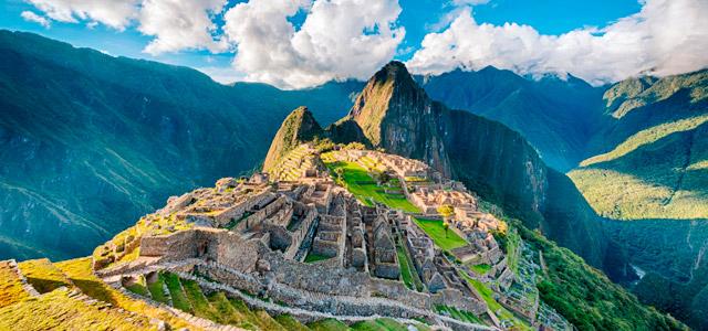 As ruínas de Machu Picchu, no Peru, emana paz