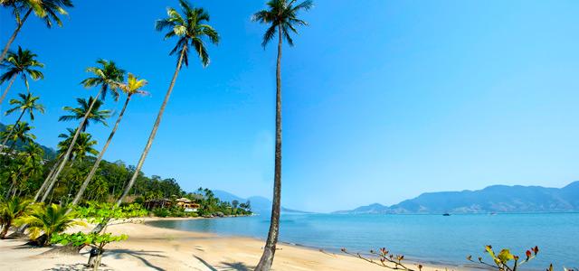 Praia de Castelhanos - Pousada em Ilhabela