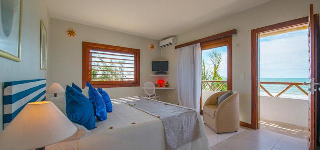 Quarto do Hotel Vila Selvagem