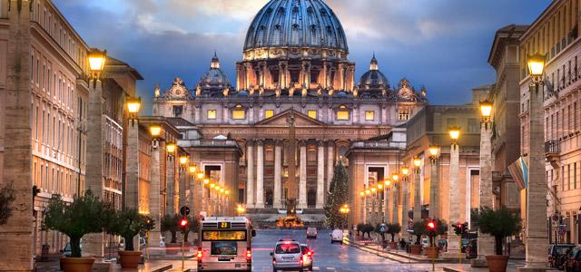 Visitar as cidades italianas e não visitar o Vaticano é pecado!