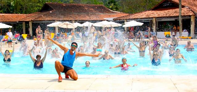 Atividades interativas no Club Med Rio das Pedras