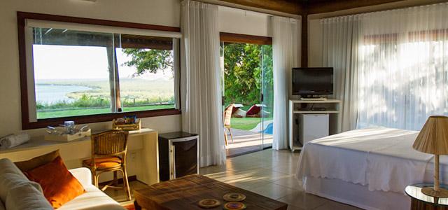 Acomodações no Gungaporanga Hotel