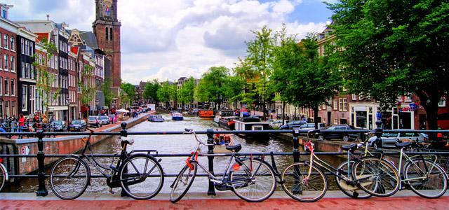 Bikes em Amsterdam