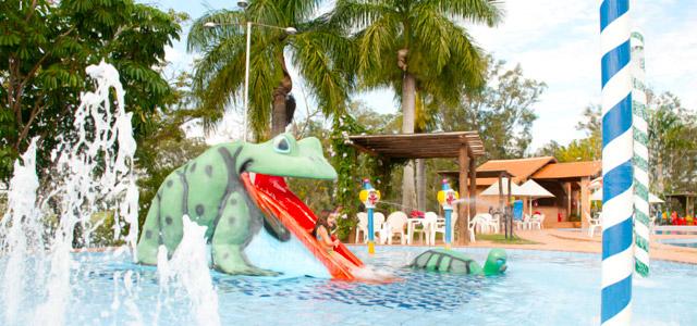 Piscina infantil para os pequenos - Terra Parque Eco Resort