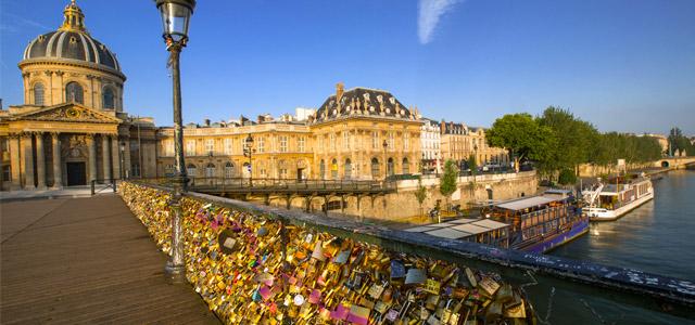 Pont des Arts - viagem para Paris