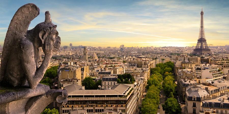 Uma romântica viagem para Paris