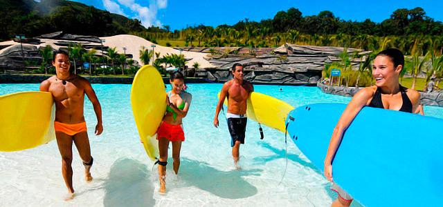 Escolinha de Surf - Rio Quente Resorts