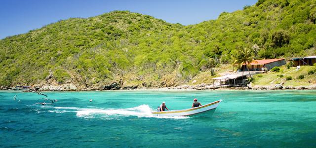 La Isla Margarida, no Caribe Venezuelano