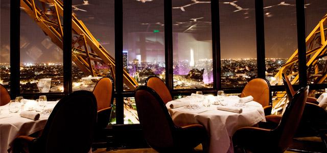 Restaurante Le Jules Verne - viagem para Paris