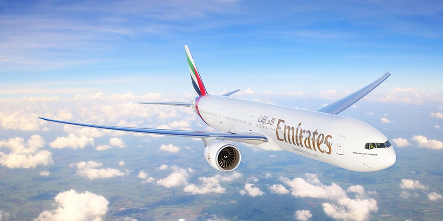 Zarpe com a Emirates Airlines