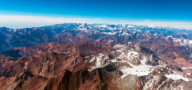 Cordilheira dos Andes - Santiago