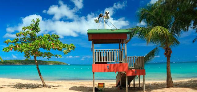 Fajardo, praia de Porto Rico
