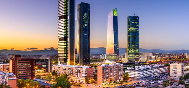 Madrid - Verão na Europa
