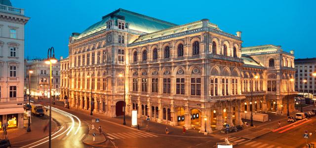 Ópera House. Áustria - Europa central