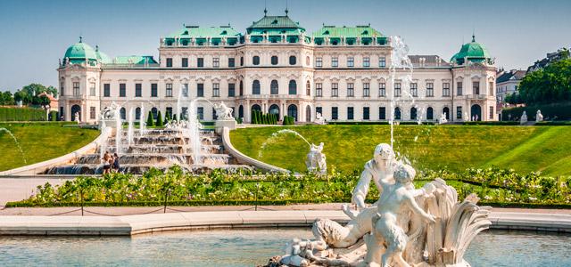 Palácio Belvedere, Áustria - Europa central