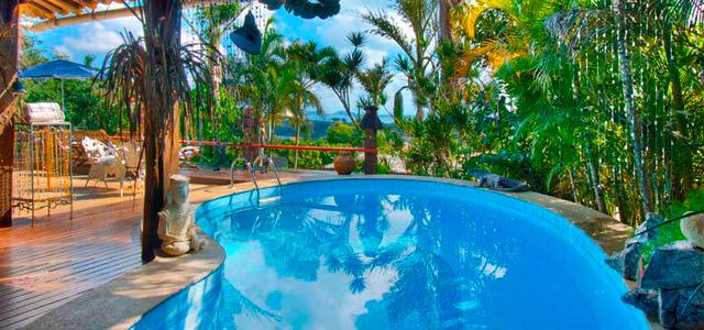 Piscina do Aquabarra Boutique Hotel & Spa