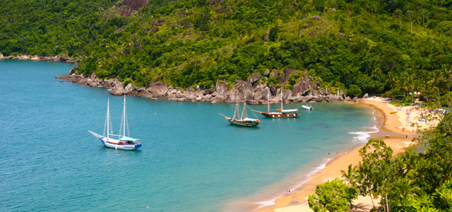 Praia do Bonete - Passeios em Ilhabela