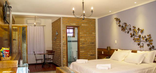 Quarto do Parque do Avestruz Hotel Fazenda