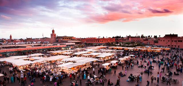 Praça Jemaa el-Fna - Marrakech