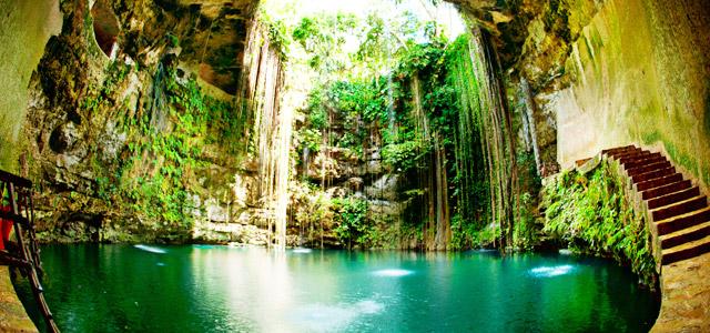 Cenotes - Viagem para Cancun
