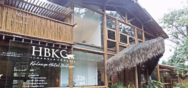 Entrada do Kalango Hotel Boutique