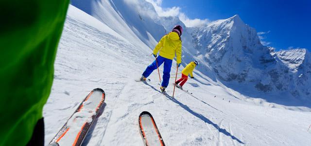 Estações de esqui estão espalhadas pela Patagônia