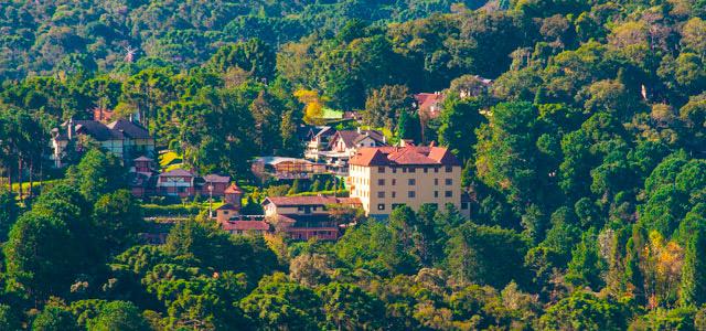 Monte Verde romântica - Hotel Ninho do Falcão