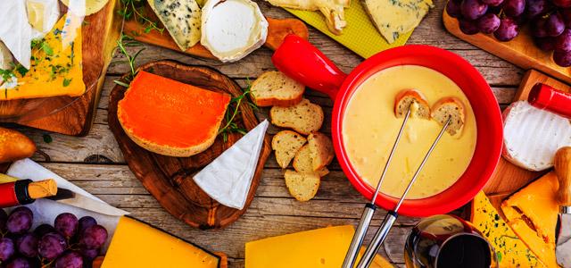 Fondue, queijos, vinho..culinária em Teresópolis