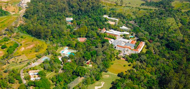 Natureza no Grande Hotel São Pedro