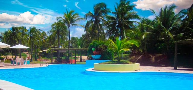 Piscina no Siri Paraíso Hotel