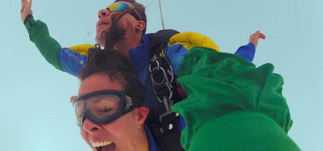 Salto - Saltar de Paraquedas