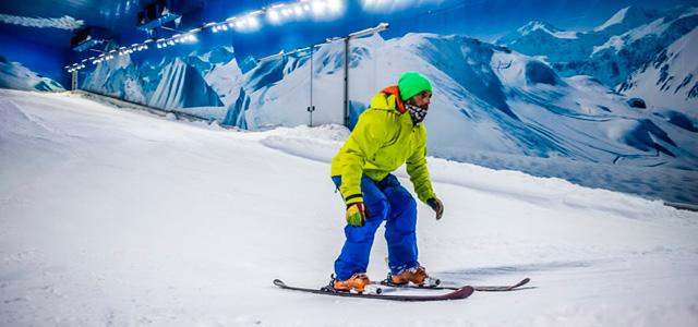 Esqui no Snowland, Gramado -  Patinação no gelo
