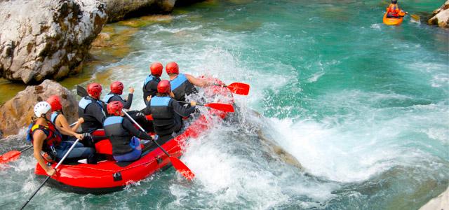 Rafting - Represa de Furnas