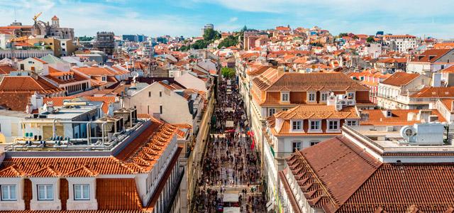 Vista aérea de Lisboa - O que fazer em Lisboa