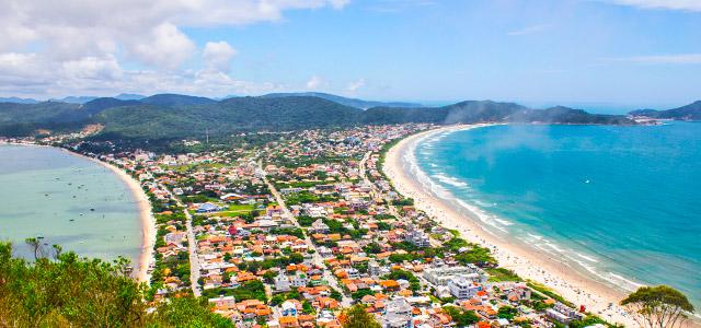 Litoral catarinense em 4 paraísos